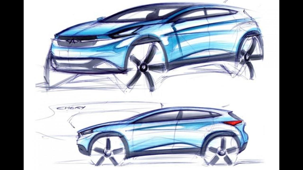 Salão de Pequim: Chery TX Concept antecipa próxima geração do jipinho Tiggo