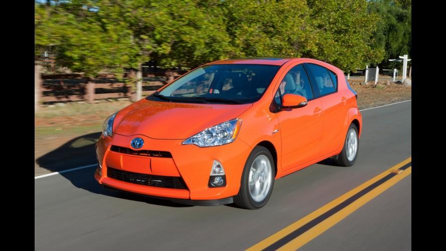 Toyota diz que vendeu mais Prius C em três dias do que Chevrolet Volt e Nissan Leaf juntos em um mês