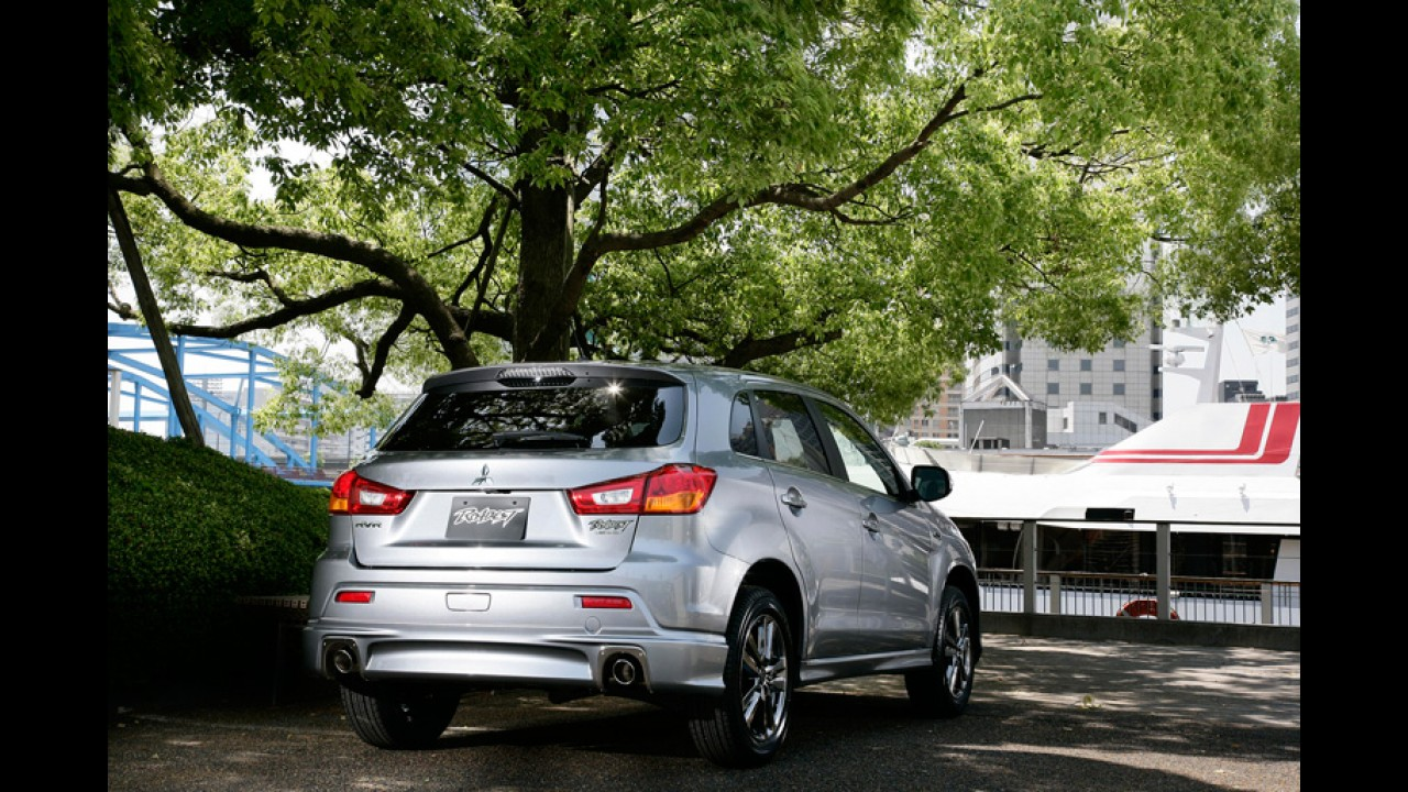 Japão: Mitsubishi apresenta versão esportiva Roadest para o ASX - Será que chega ao Brasil?