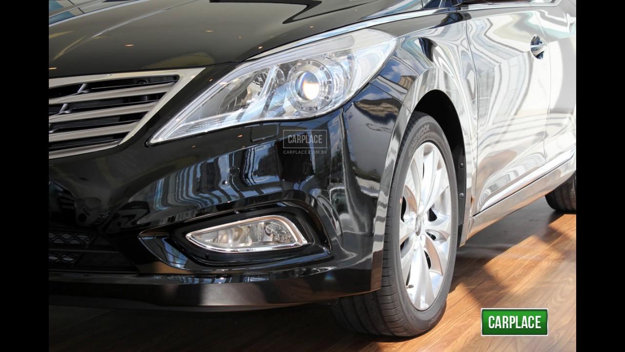 Conhecemos ao vivo: Novo Hyundai Azera 2012 já chegou às lojas do Brasil - Veja fotos