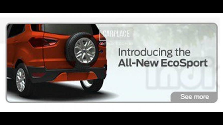 Novo Ecosport 2013 deve ser apresentado oficialmente no Brasil em 04 de janeiro