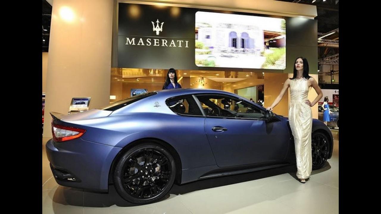 Salão de Bolonha: Maserati apresenta série especial Granturismo S