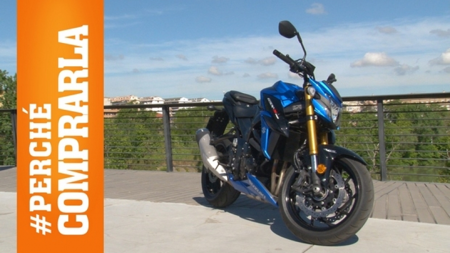 Suzuki GSX-S750 2017: Perché comprarla... e perché no [VIDEO]