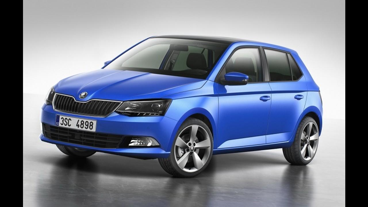 Skoda revela nova geração do Fabia, primo do Audi A1 e do Polo europeu