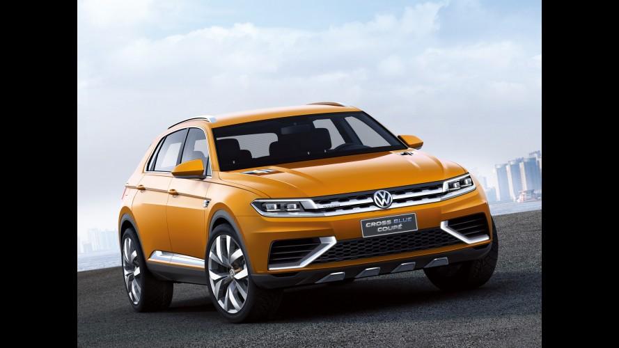 Volkswagen estuda produzir CrossBlue e CrossBlue Coupé na China