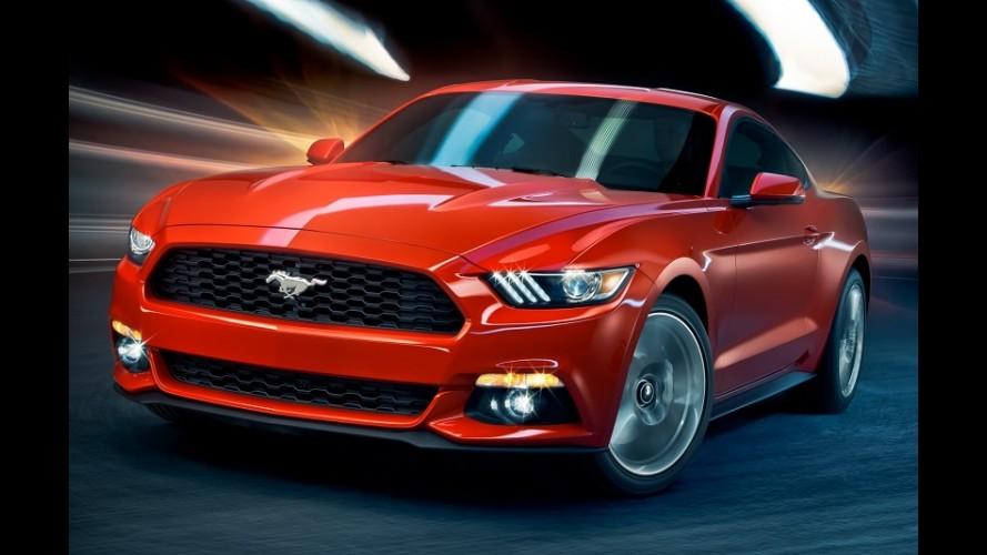Nova geração do Mustang começa a ser produzida a partir do dia 14