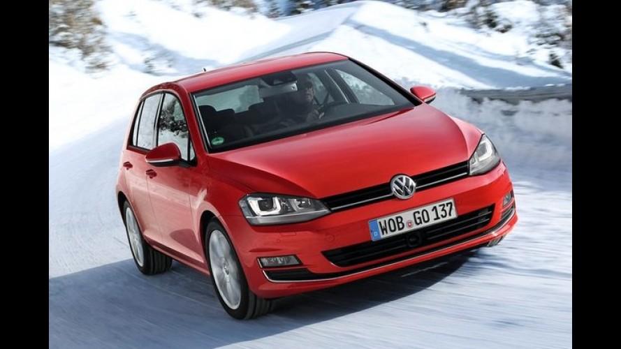 Alemanha: VW emplaca top 4 novamente e Audi supera Mercedes