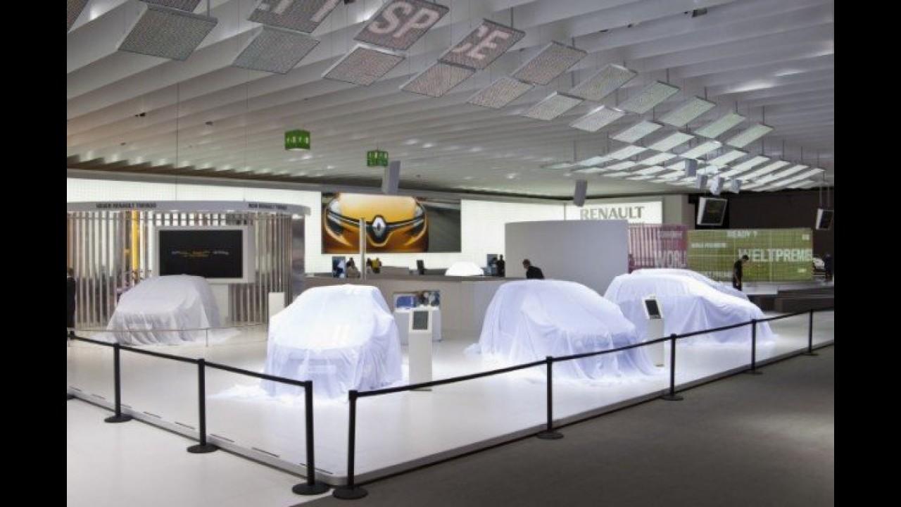 Renault vai revelar um novo conceito em Frankfurt