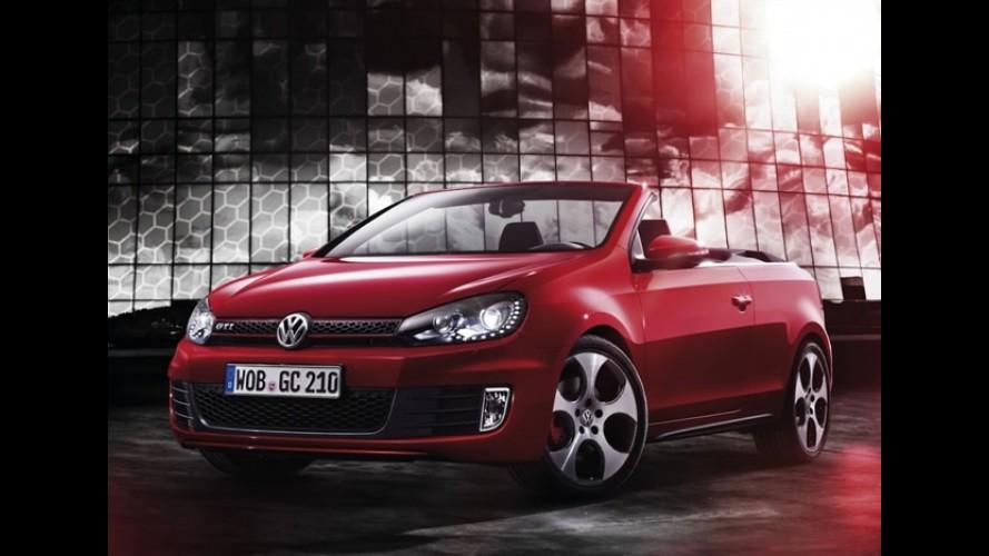 Volkswagen Golf GTi Conversível tem imagens oficiais reveladas