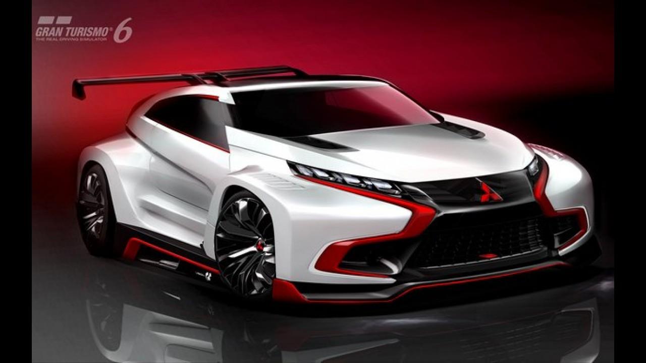 Mitsubishi revela o XR-PHEV Evolution Vision Gran Turismo - veja galeria