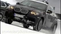 Trabalho ou diversão? BMW X6 M e X5 M são testadas na neve - Veja o vídeo