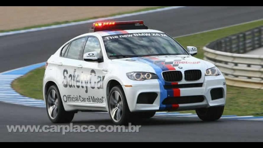 BMW X6M faz sua estréia nas pistas como Safety Car da MotoGP na Europa