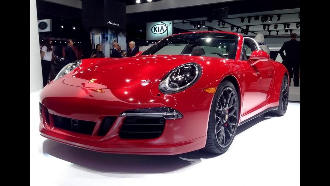 Salão de Detroit: a família cresce com o novo Porsche 911 Targa 4 GTS