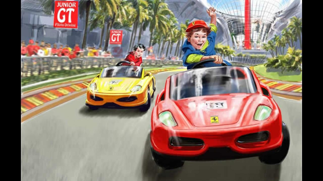 Novos detalhes do parque temático da Ferrari
