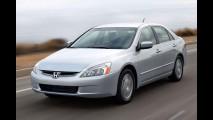 Honda convoca Accord 2005 para recall - Ação atinge 390 modelos no Brasil