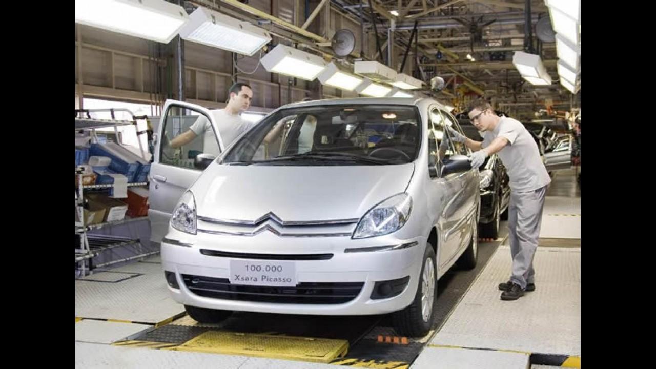 Citroën Xsara Picasso ultrapassa a marca de 100 mil unidades vendidas no Brasil