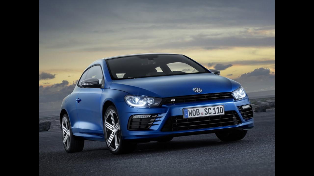 VW Scirocco: nova geração chega em 2017 com visual completamente diferente