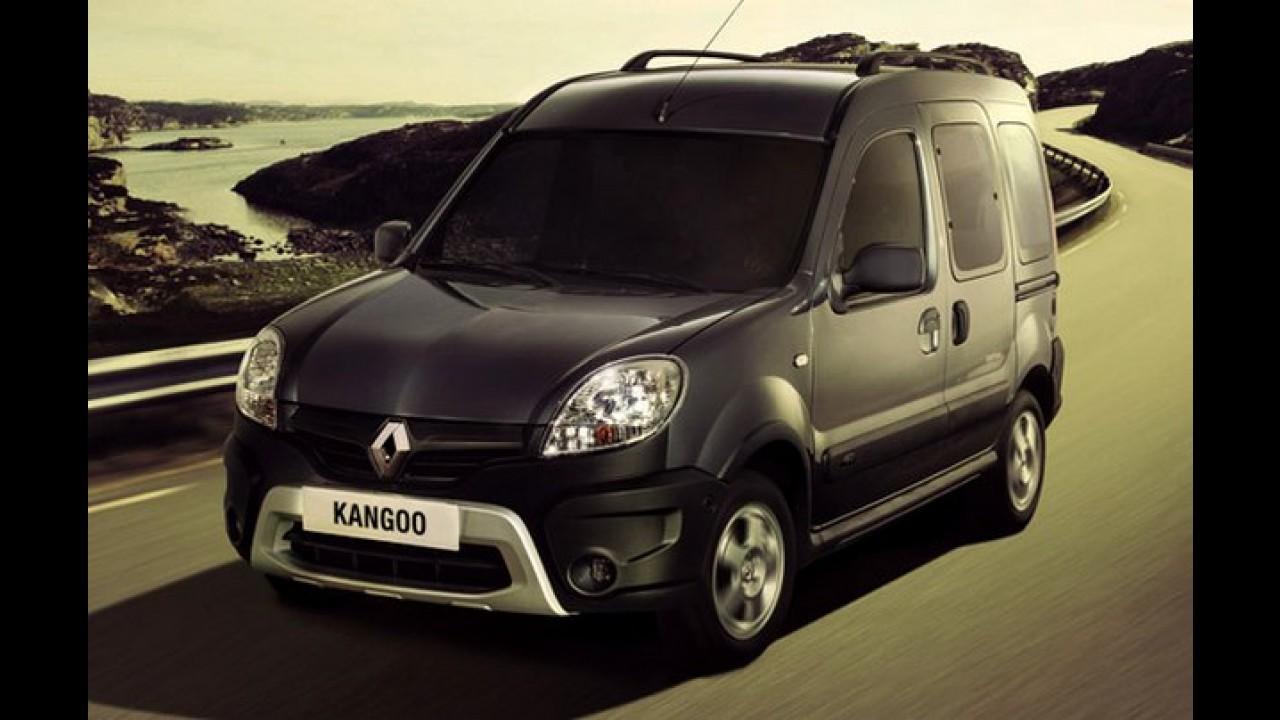 Renault dá sobrevida ao Kangoo na Argentina com nova reestilização