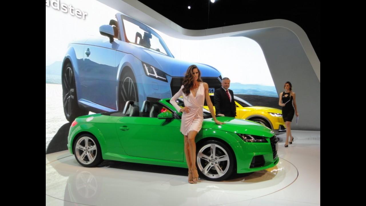 Salão SP: Audi mostra novo TT Roadster e confirma A3 nacional flex