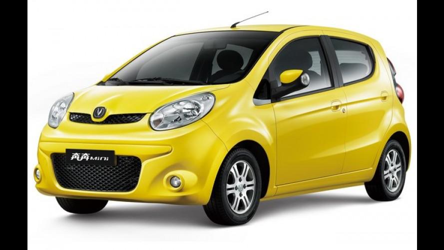 Changan mostrará o compacto Mini Benni no Salão do Automóvel