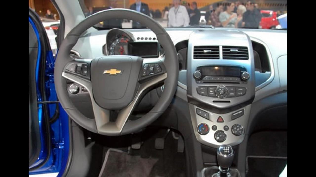 Fotos: Novo Chevrolet Aveo no Salão de Paris