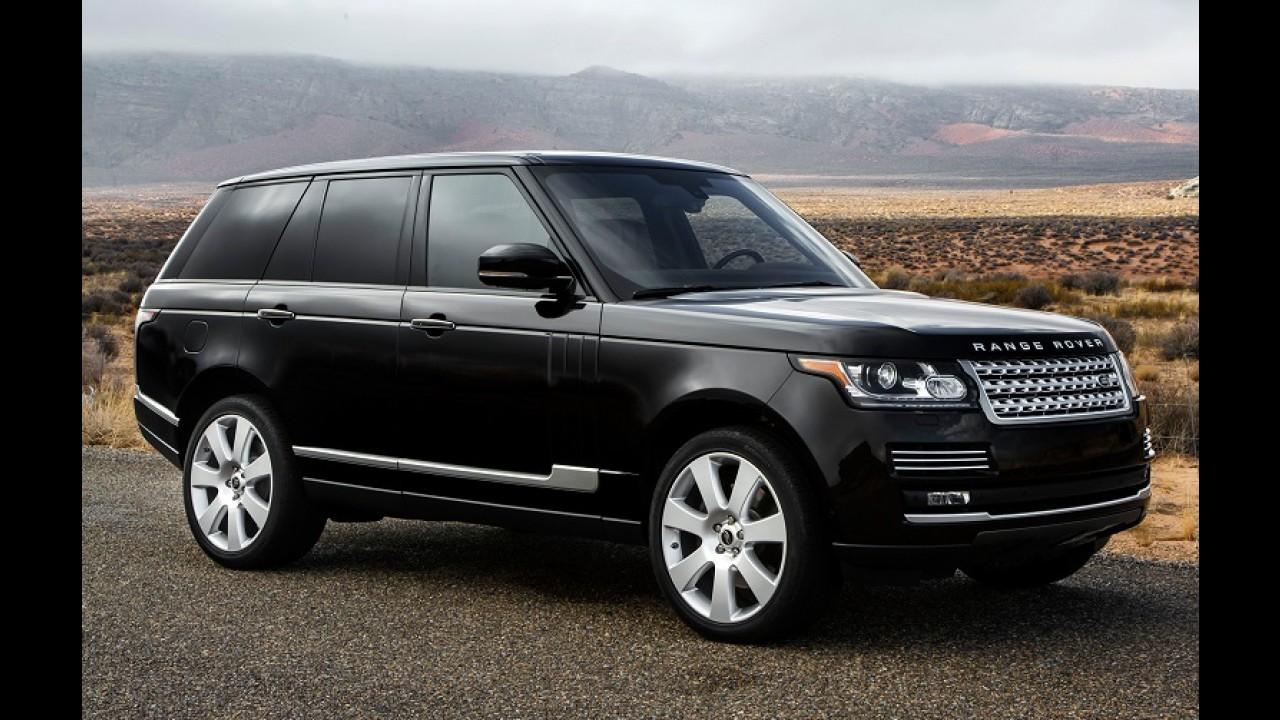 Land Rover convoca 92 Vogue no Brasil para reparar software defeituoso