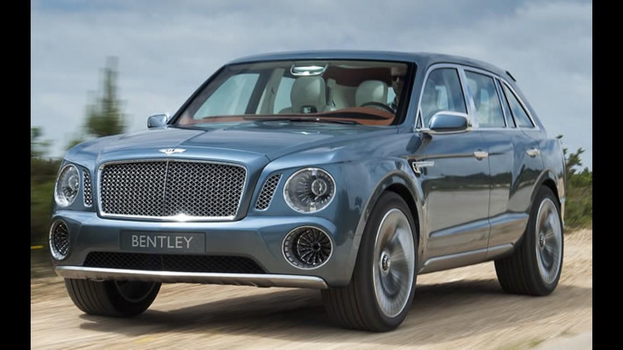 Bentayga: este pode ser o nome de batismo do novo SUV da Bentley
