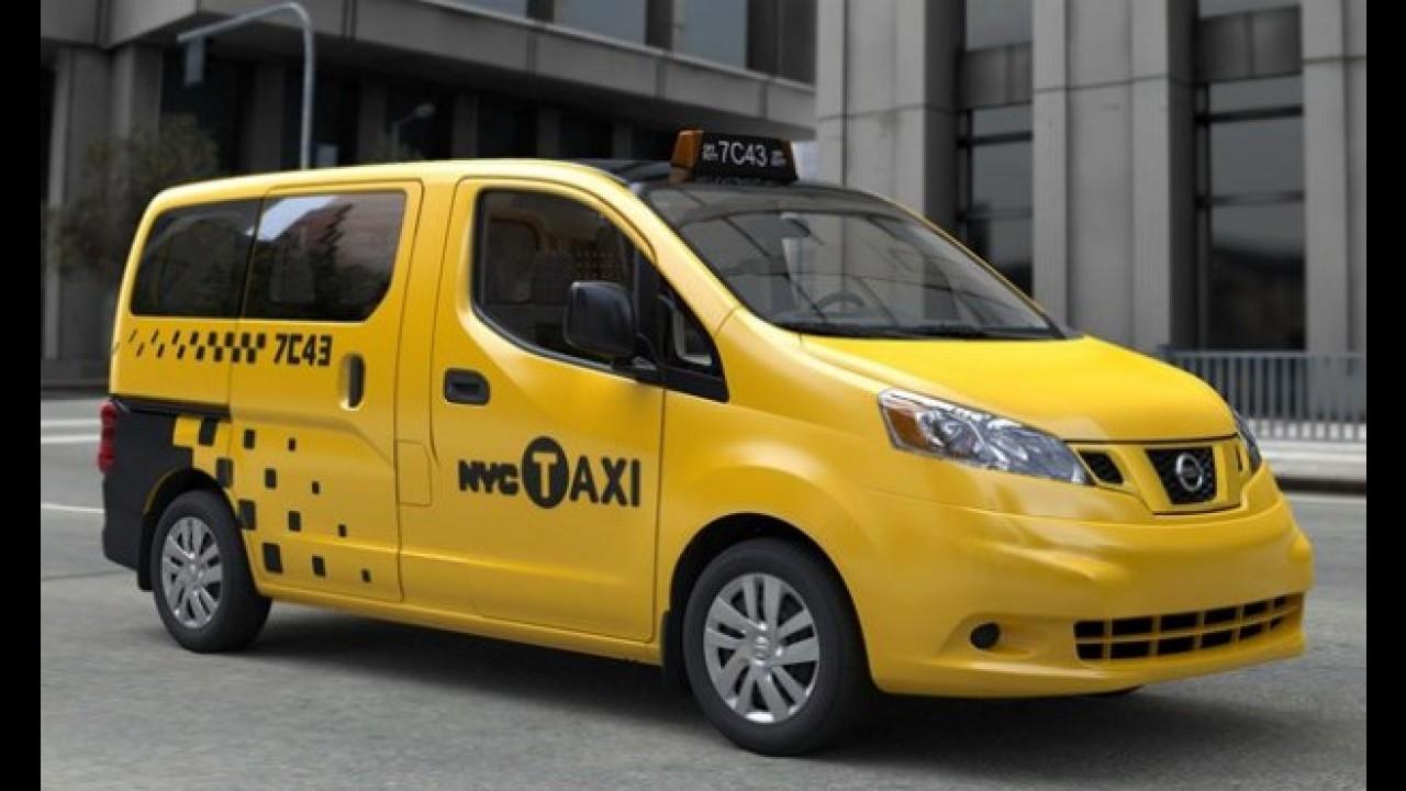 Nissan vence licitação para produzir novos táxis de Nova York
