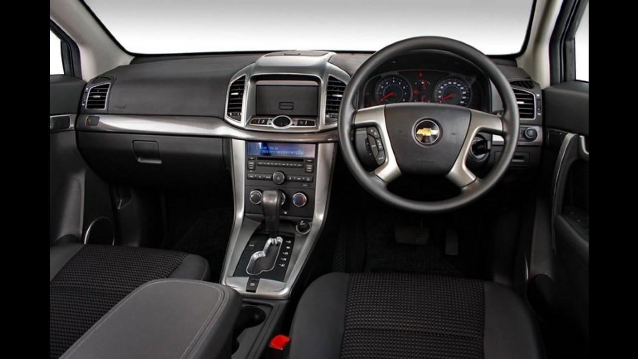 Chevrolet Captiva será produzido na China