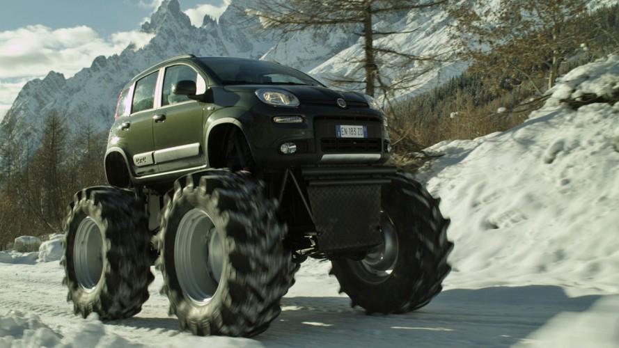 "VÍDEO: Um Fiat Panda ""monstruoso"""