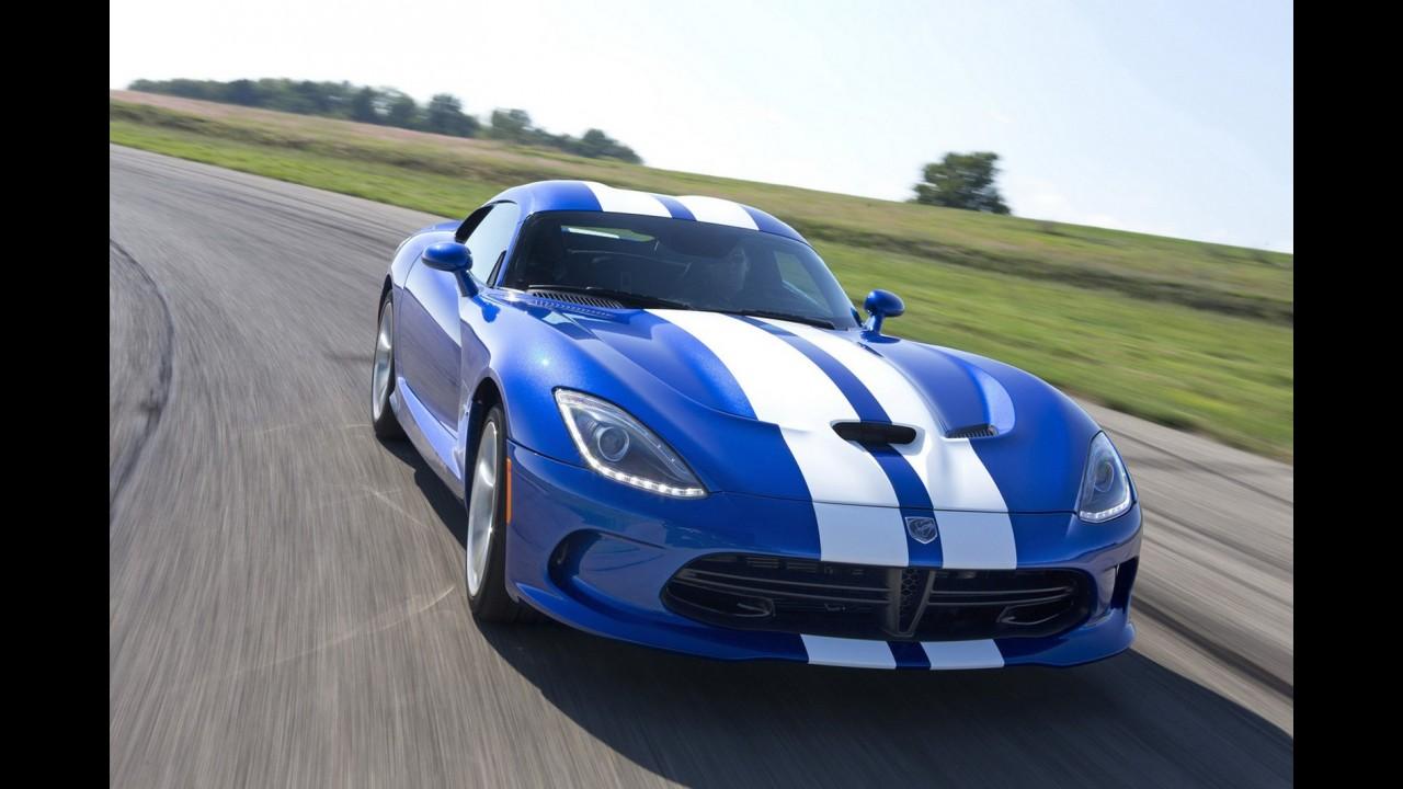 Nova geração do esportivo Viper será destaque da Chrysler no Salão do Automóvel