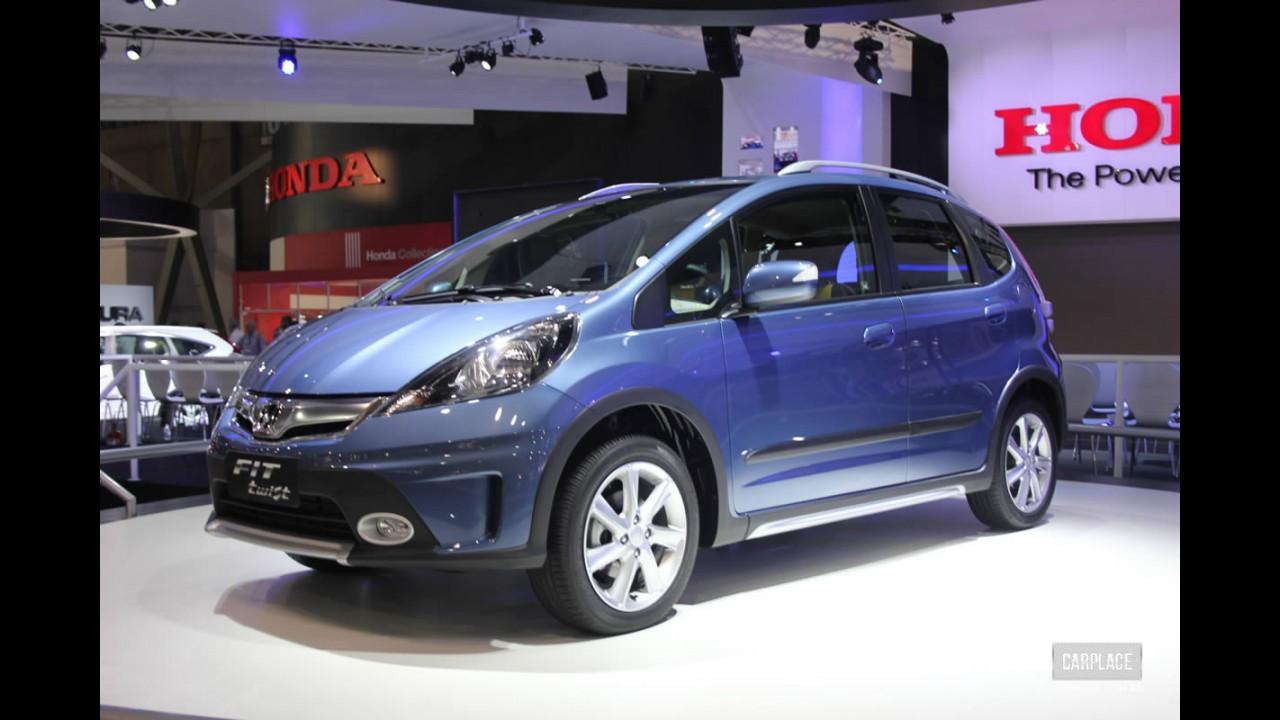 Honda Fit 2014 chega sem mudanças