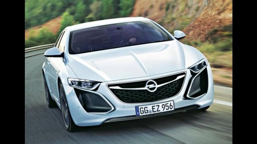 Ele voltou! Opel vai mostrar o Monza Concept no Salão de Frankfurt