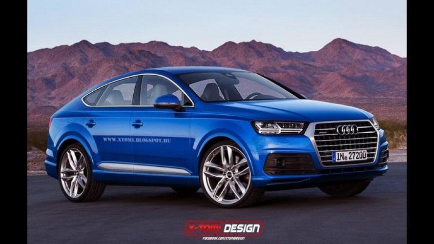Projeção: Audi Q8 chega em 2017 para encarar BMW X6 e Mercedes GLE