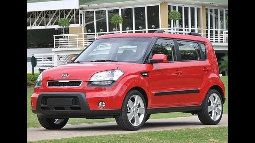 Kia chama 24.191 carros no Brasil para recall