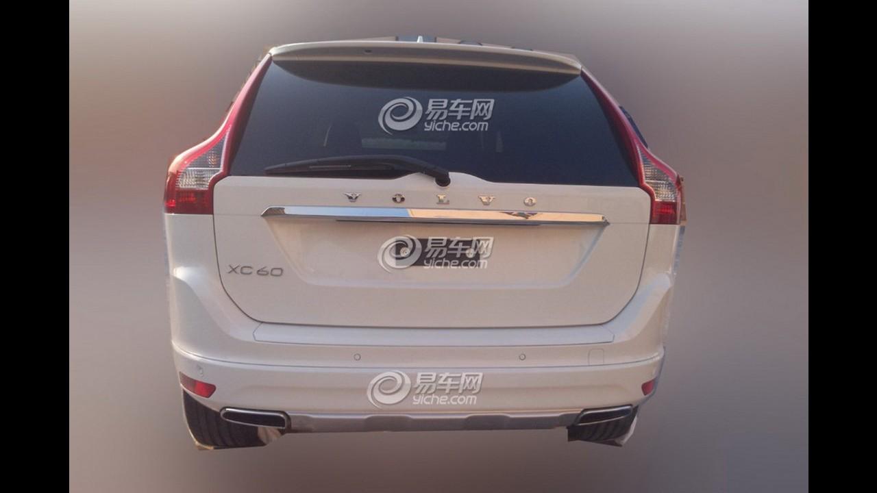 Flagra: Volvo XC60 com visual reestilizado é visto sem disfarces na China