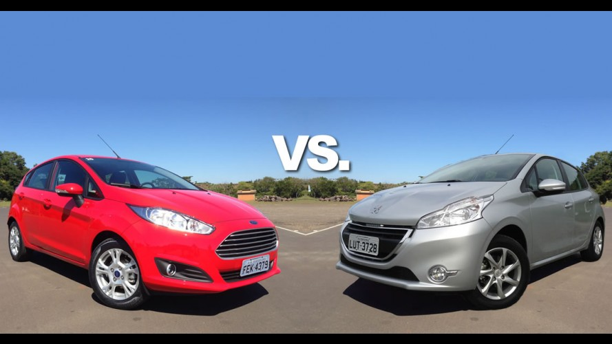 Tira-teima hatches 1.5: Ford New Fiesta SE ou Peugeot 208 Allure?
