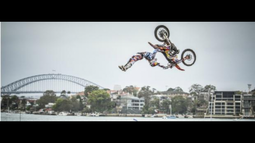Red Bull X-Fighters 2012, Sydney: vittoria di Sherwood