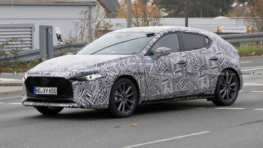 La nouvelle Mazda3 surprise pour la première fois