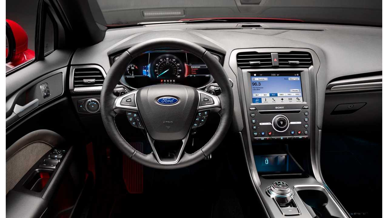 2017 New Ford Fusion Sport Ice Interior