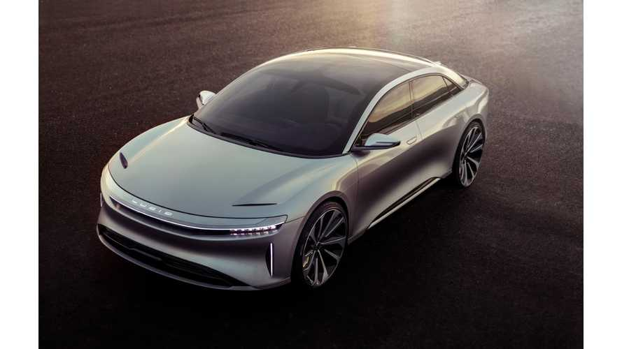 "Lucid Motors Debuts The ""Air"": 0-60 mph in 2.5 Seconds, 400 Mile Range - $100,000+"