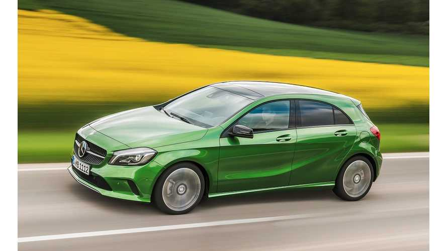 Plug-In Mercedes-Benz A-Class In Development