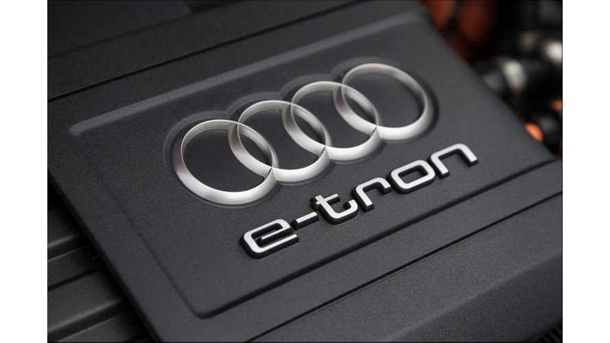 "Audi's First Mass-Produced Pure Electric Vehicle Will Simply Be Called ""e-tron"""