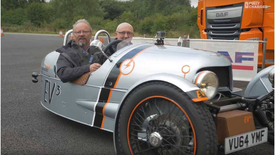Fully Charged Drives Electric Morgan - Video
