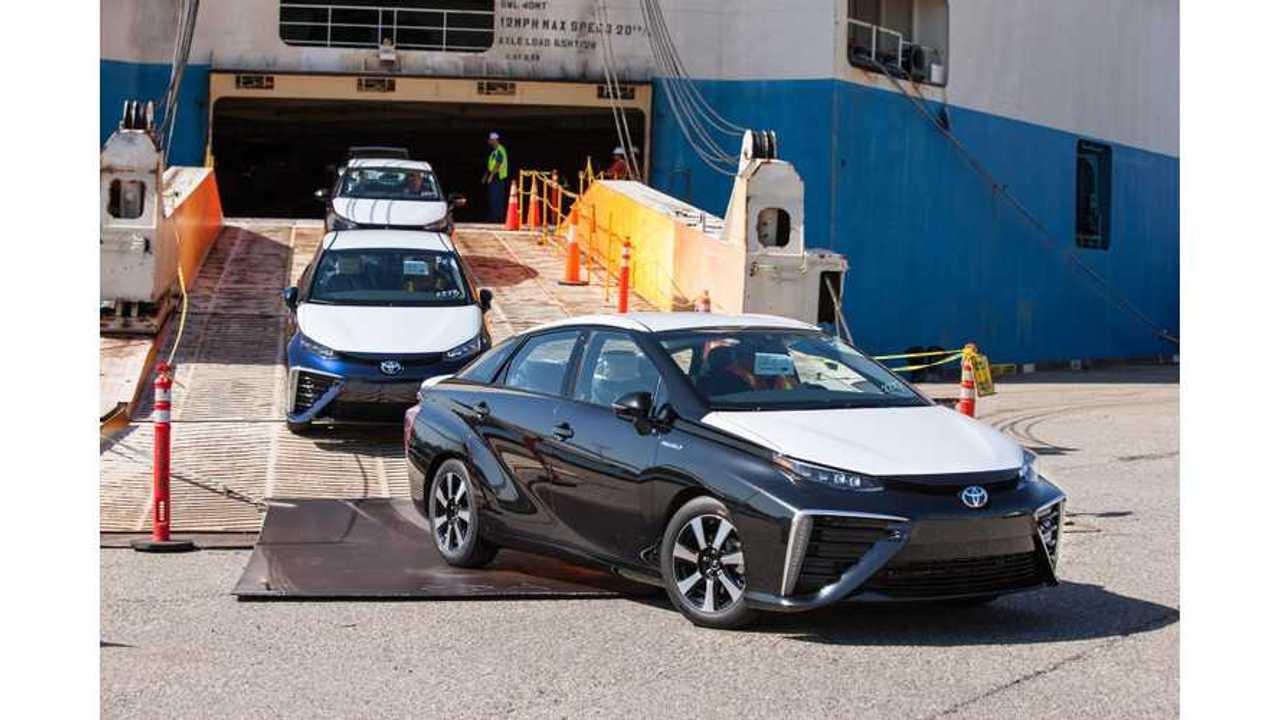 Toyota Mirai's Request Portal For California Opens July 20th