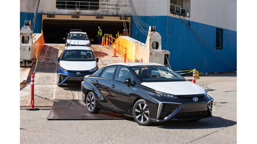 Toyota Mirai's Request Portal For California Opens July 20th
