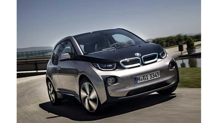 Over 3,000 BMW i3s Sold Globally In September