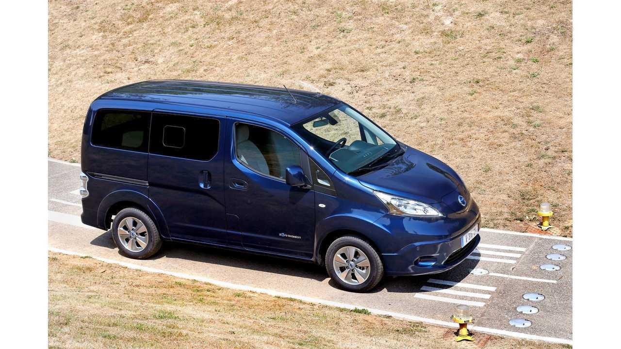 5 & 7-Seat Nissan e-NV200 Test Drive Review