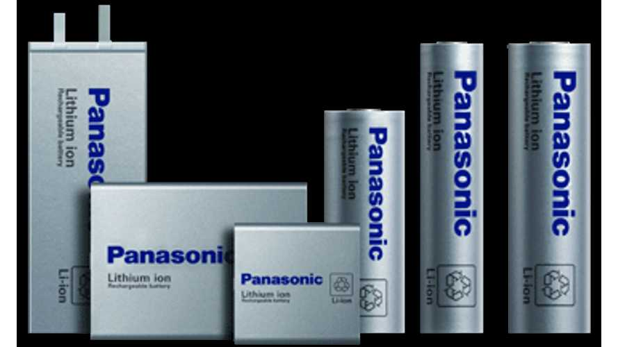 Panasonic Establishes Battery Factory Joint Venture In China