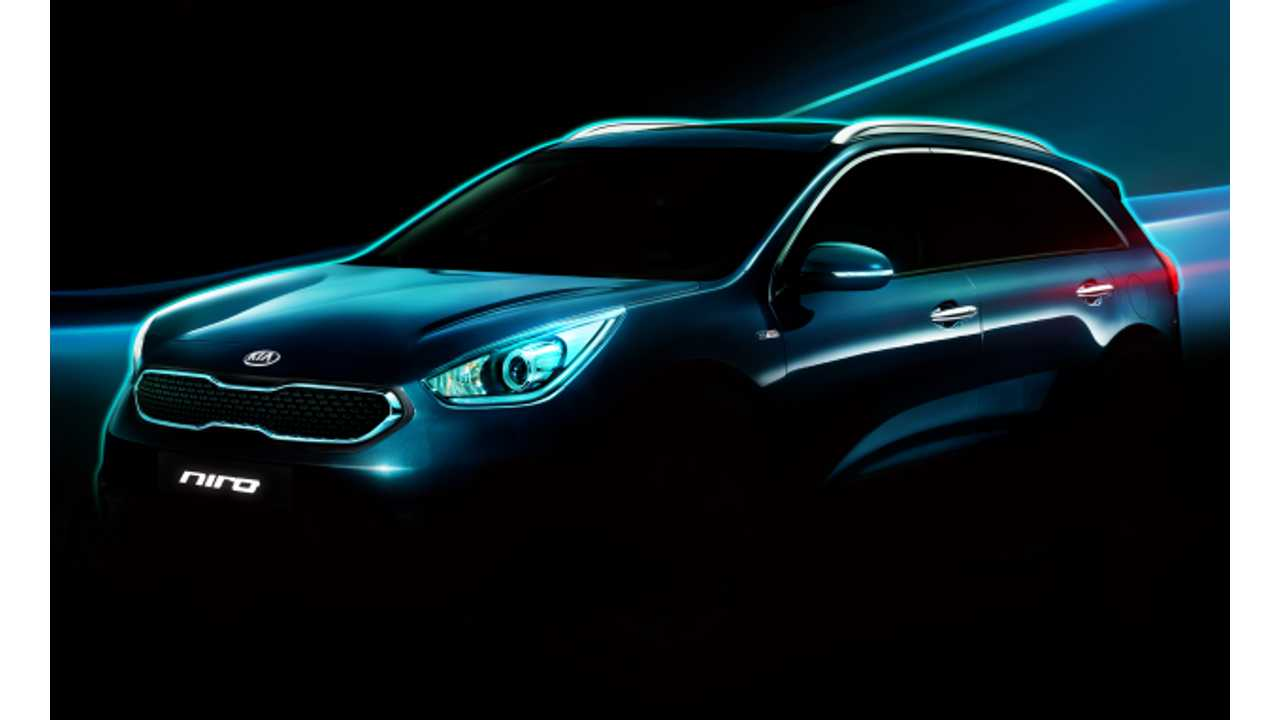 Kia Niro Hybrid To Debut In Chicago - Plug-In Hybrid Version Planned